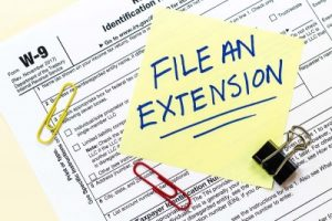 filing a tax extension with a mazzo accounting