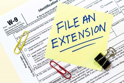 Should you file a Tax Extension?