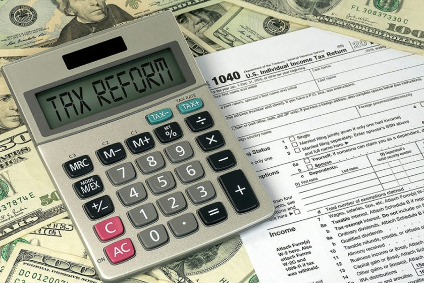 Tax Changes with the New Tax Reform